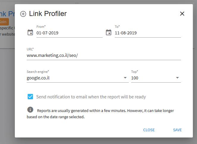 Link Profiler