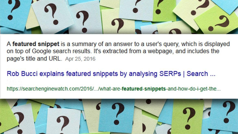 לכל שאלה תשובה: איך להשיג Featured Snippet לאתר שלכם, ולמה זה ממש כדאי